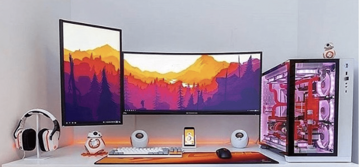 monitor vertical